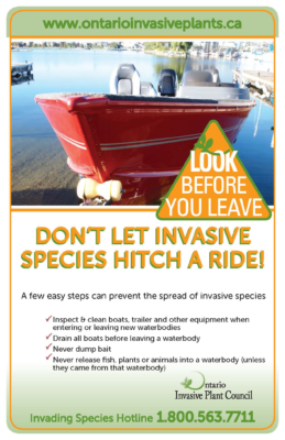 Look Before You Leave – Boaters