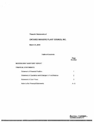 2013/14 Audits