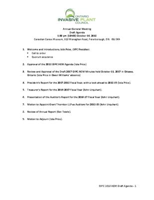 OIPC 2018 AGM Agenda v1