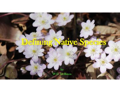 WDMcIlveen_DefiningNativeSpecies