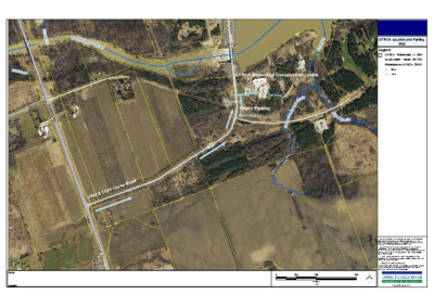 UTRCA location and parking map