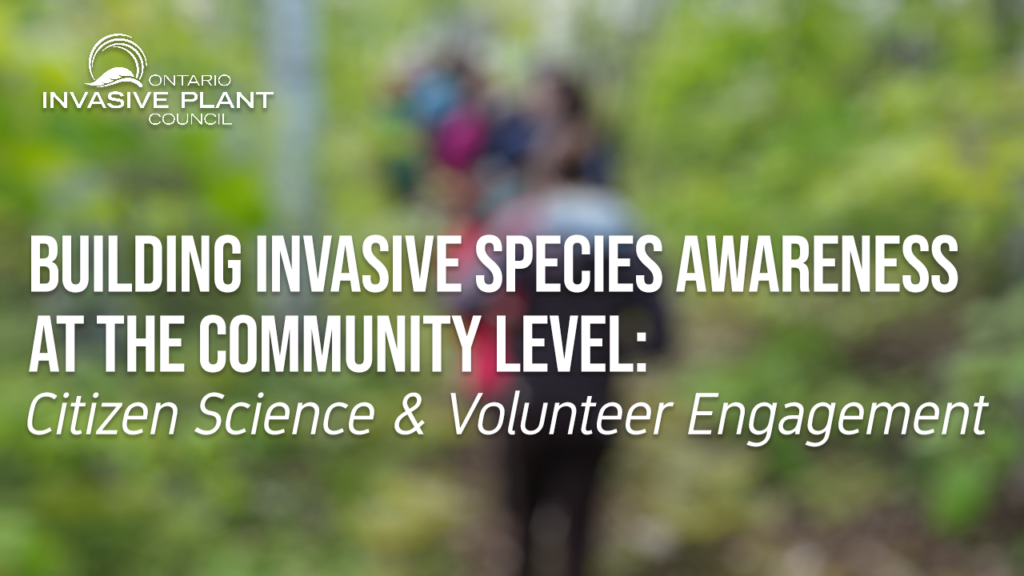 Building Invasive Species Awareness at the Community Level