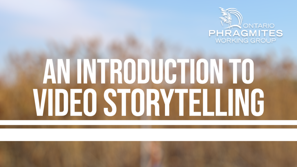 The OPWG: An Introduction to Video Storytelling with Invasive Plants